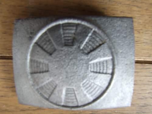 Sternmotor Buckle