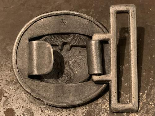 Forestry Service Buckle