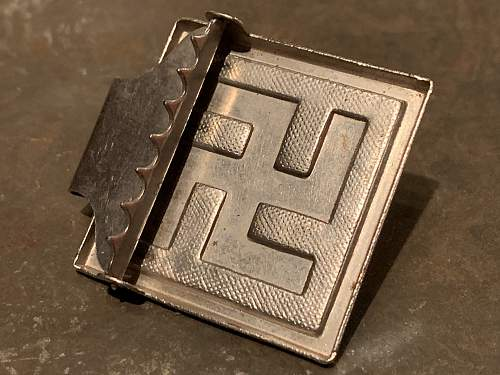 Sympathizer Buckle / Unattributed Buckle / Political