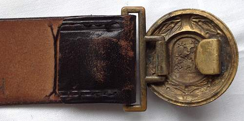 Thuringia buckle