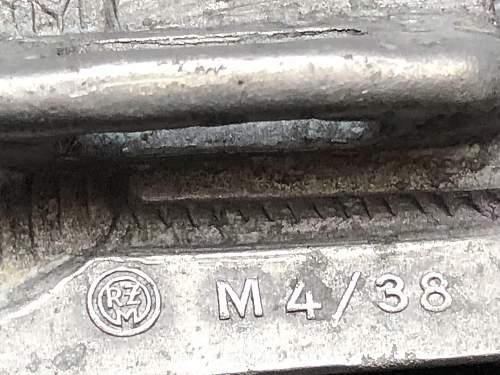 Belt buckle RZM M4/38