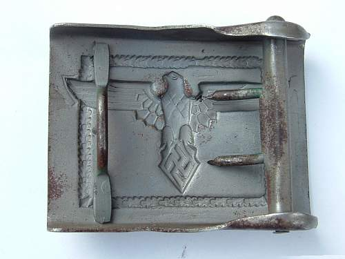 Fake Feuerwehr & other civilian buckles