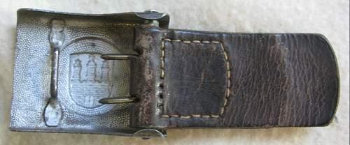 Please identify buckle