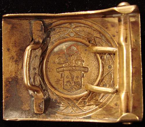 more civilian Buckles of those days