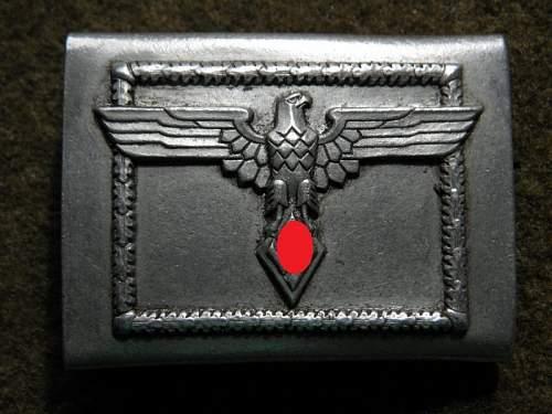 Fake Feuerwehr & other civilian buckles