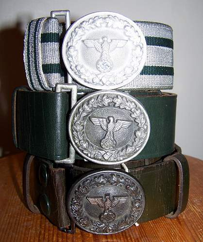 Forestry Belt and Buckle