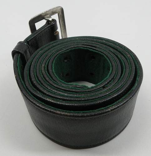 Forestry Belt... state, DJ or army ?