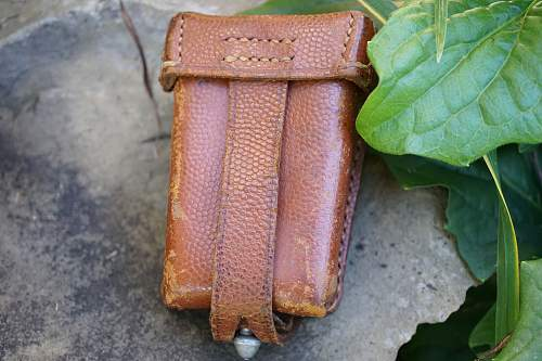 Very Interesting Tan Ammo Pouch