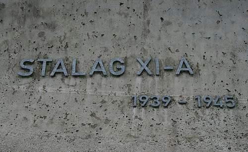 Click image for larger version.  Name:Gedenkstätte_Kriegsgefangenenlager_STALAG_XI-A_-_Inschrift.JPG Views:72 Size:151.6 KB ID:1003801