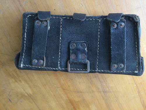 Help identifying Germany Ammo Pouches