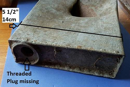 Is this part of a Vickers MG cooling system from a Vickers Light tank Mk.VB