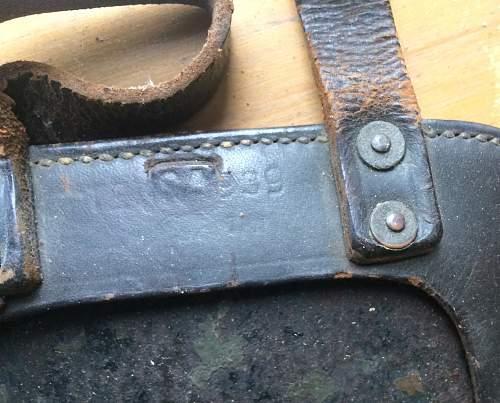 German Entrenching tools