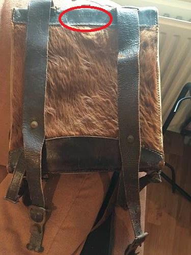 """German """"affe"""" backpack"""
