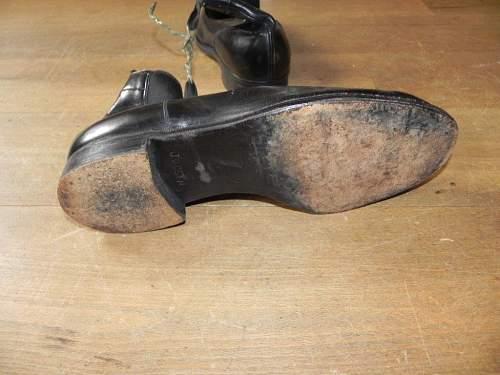 WW2  German dress shoes
