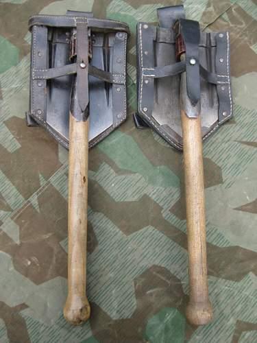 Folding shovel 1941
