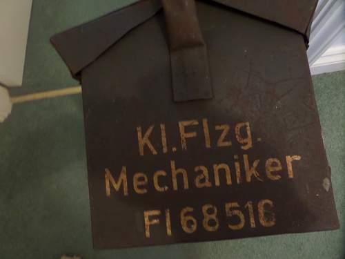Nice Luftwaffe tool box