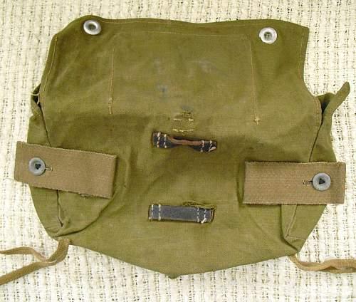 A- Frame assault bag.