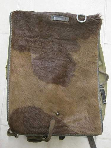 need opinion on my Tornister Affe backpack