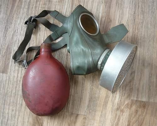 Original Gas Mask and Canteen?