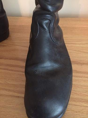 German Officer Boots
