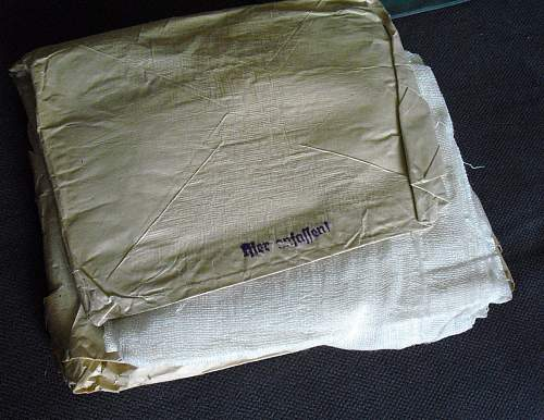 Mounted Troops Medical Bag untouched!
