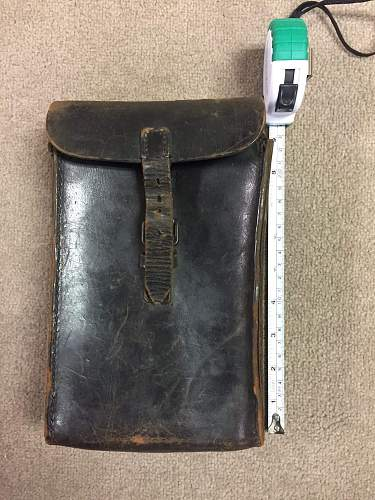 Unknown leather case