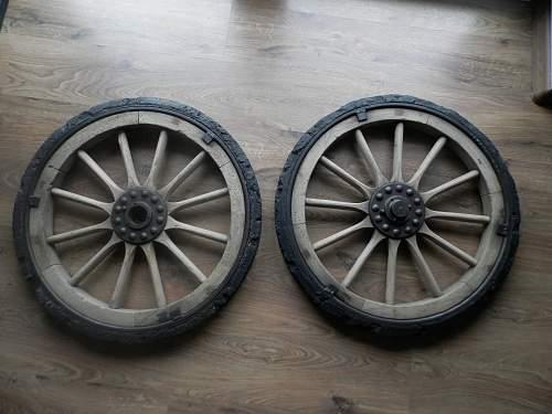 a cannon wheels