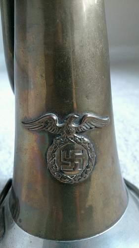 German Bugle--What organization used it?