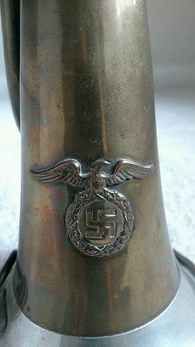German Bugle--What organization used it?