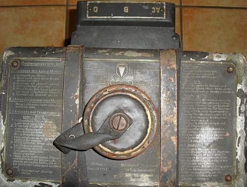 C1 Generator by Bosch 1943.