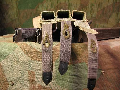 Afrika Korps? Tropical MP40 Magazine Pouches
