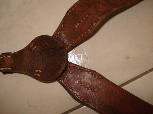 late war Y straps