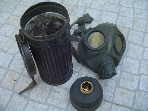 German gas mask--value?