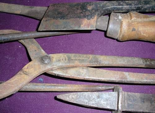 Reichsheer Blacksmith Tools?