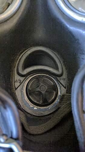 help with name on gasmask