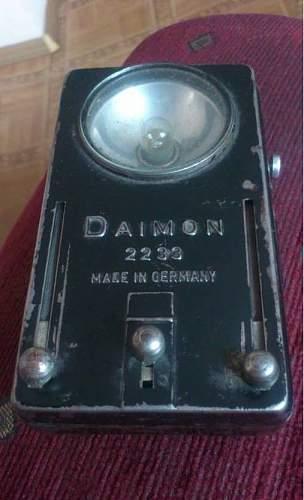 a flashlight wehrmacht?