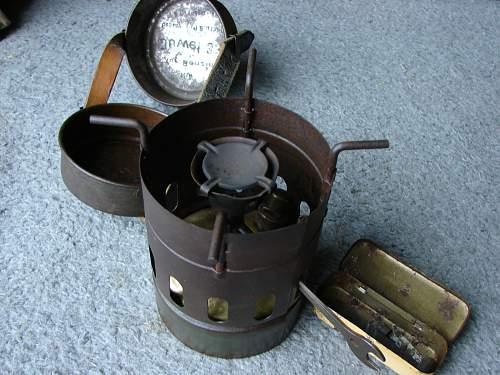 German WW2 Cooker not sure?