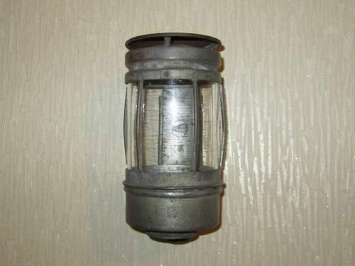 Reichsbahn Wall Lamp.