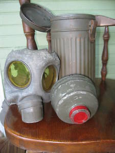 Ebay gas mask and canister. Authentic?