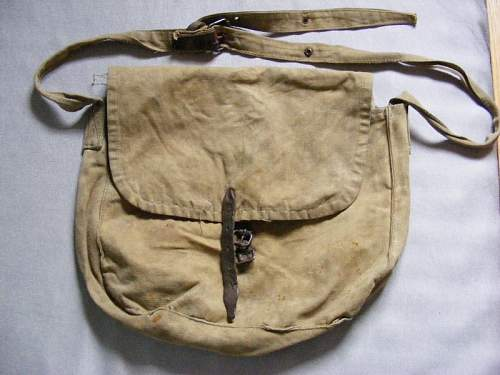 Unknown napsack/bread type bag