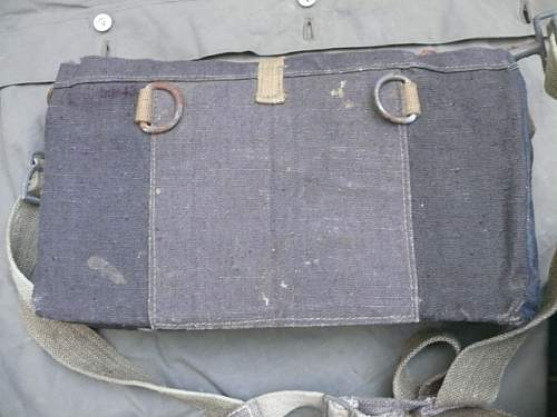 To carry ammunition boxes