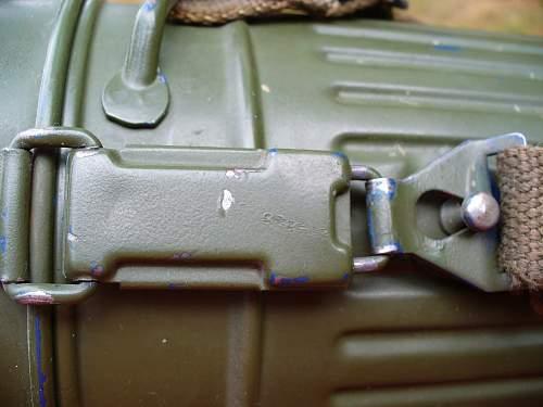 WWII or postwar gas mask cannister?