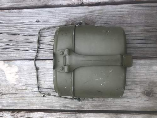 M31 mess kit? Real or post war