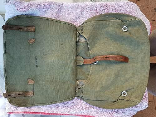 My first M31 breadbag