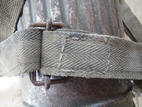Original respirator canister strap ?