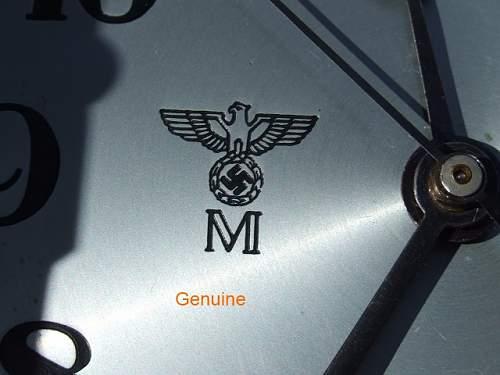 Fake Kriegsmarine Clocks at the War and Peace Revival in the UK