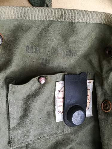 Fj gas mask bag verification