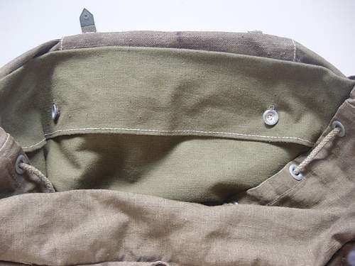 Tropical rucksack