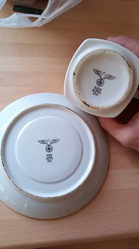 German  porcelain (kpm)