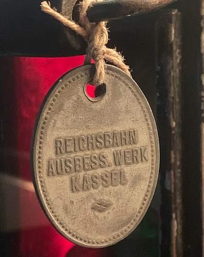 WWII Deutsche Reichsbahn Railway Lantern